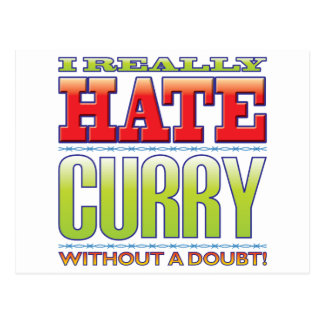Curry Hate Post Cards