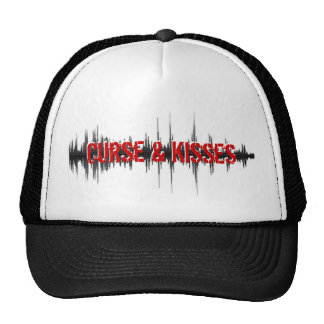 Curse & Kisses Sound wave Hat
