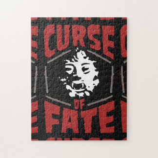 Curse of Fate Horror Movie Jigsaw Puzzle