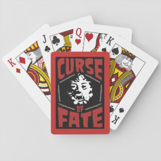 Curse of Fate Movie Playing Cards