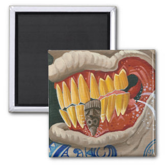 """""""Curse of the Tiki Tooth"""" Magnet"""