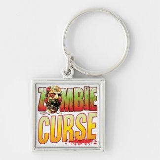 Curse Zombie Head Key Chain