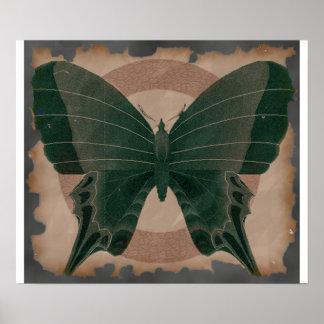 Cursed Paper Moth Poster