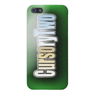 CursoryTwo IPhone 5/5s Case