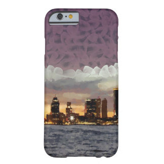 Curtain coming down barely there iPhone 6 case