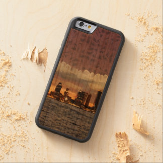 Curtain coming down carved cherry iPhone 6 bumper case