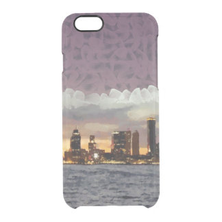 Curtain coming down clear iPhone 6/6S case