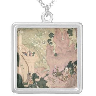 Curtain design for Nikolai Rimski-Korsakov's Silver Plated Necklace