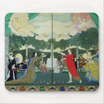 Curtain Design for the 'Free Theatre' in Mouse Pad