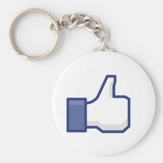 curtir Facebook Chaveiro