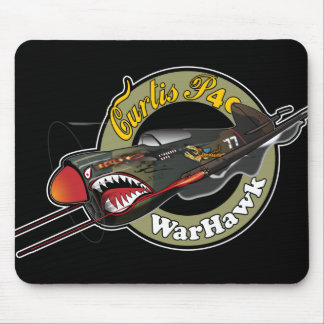 Curtis P40 WarHawk Mouse Pad