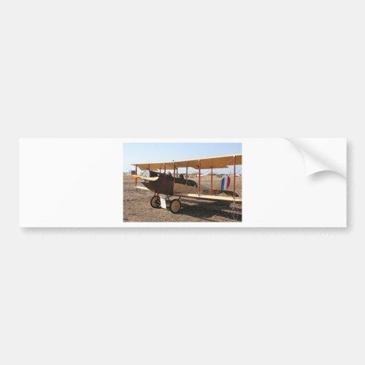 Curtiss Jenny Biplane Aircraft Bumper Sticker