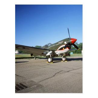 Curtiss P-40 Warhawk, at Minnesota CAF Air Show Postcard