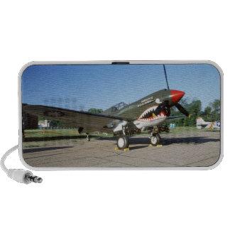 Curtiss P-40 Warhawk, at Minnesota CAF Air Show Notebook Speaker