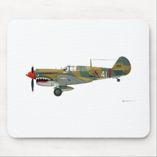 Curtiss P-40 Warhawk Mouse Pad