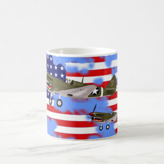 Curtiss P-40 Warhawk Mug