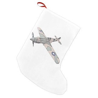 Curtiss P-40 Warhawk Small Christmas Stocking