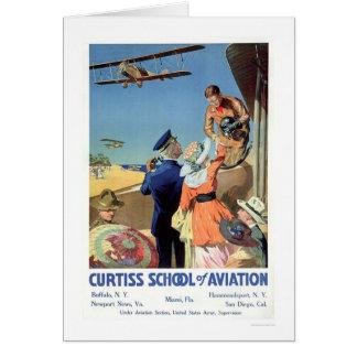 Curtiss School of Aviation (US02053) Card