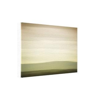 Curve landscape canvas print