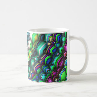 Curved Spectral Shapes Coffee Mug