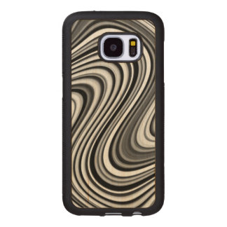 Curved Wood Samsung Galaxy S7 Case