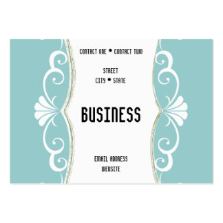Curves and Curls Business Card Template