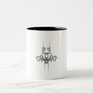 Curves No. 7 on a Coffee Mug