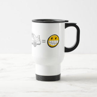 Curves, Subaru, equals fun mug or cup