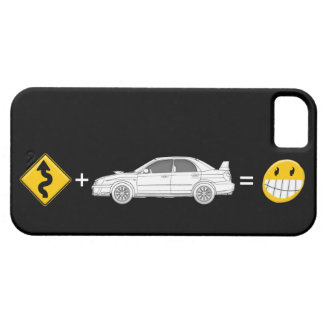 Curves, Subaru, equals fun Phone Cover