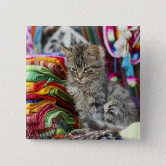 cusco peru 15 cm square badge