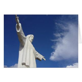 cusco statue card