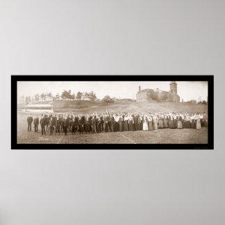 Cushing Academy Photo 1903 Poster