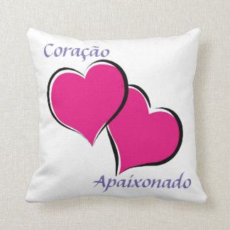 Cushion 40,6 x 40,6 cm - Design Heart apaixonad