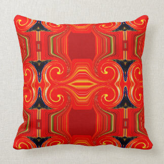 Cushion Collection Red Diamonds by Rose Canazzaro