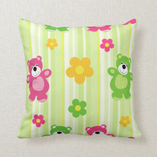 Cushion Colorful Bears
