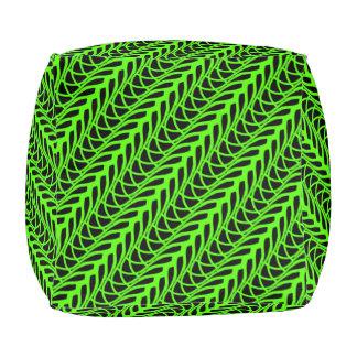 Cushion cubes Jimette Design green and black