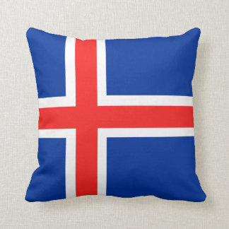 Cushion Flag of Iceland