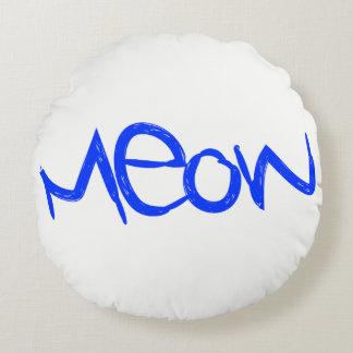 Cushion MEOW CAT roundpillow