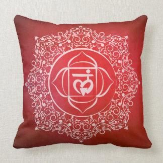 Cushion Muladhara symbol