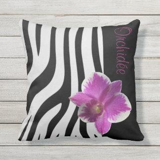 Cushion Streaks/Orchidée