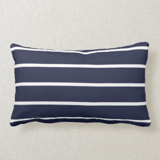 Cushion Stripes Blue and White