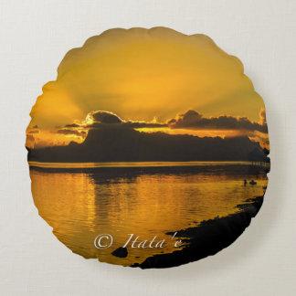 Cushion Sunset Tahiti