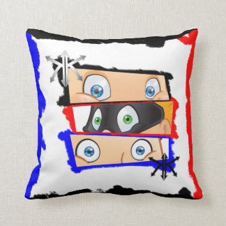 Cushion with amused appearance and modern