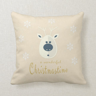 Cushion with motive for Christmas No. 4