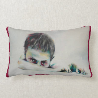 Cushion with the painting 'Boy'