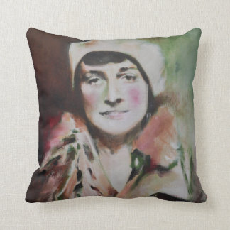 Cushion with the painting 'Maria'