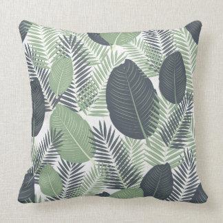 Cushion with Tropical print