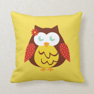 Cushion Yellow Owl