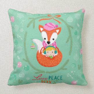 "Cushions ""Love, Peace & Joy """