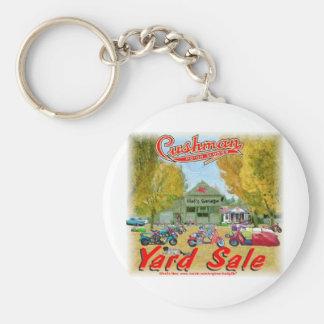 Cushman Yard Sale Keychains